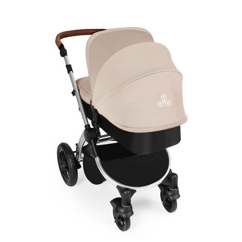 Ickle Bubba Stomp V3 2-in-1 Pram - Sand/Silver