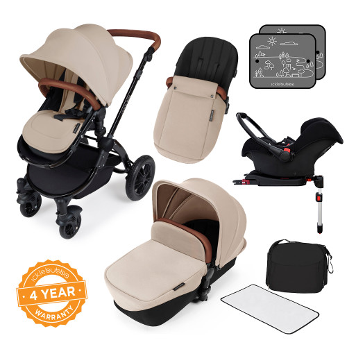 Ickle Bubba Stomp V3 All-in-One Travel System - Sand/Black