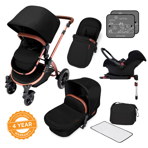 Ickle Bubba Stomp V4 All-in-One Travel System - Midnight/Bronze