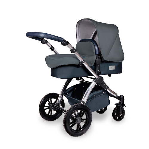 Ickle Bubba Stomp V4 Special Edition Pram - Blueberry/Chrome