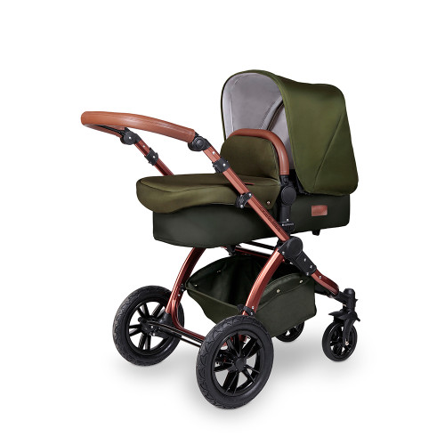 Ickle Bubba Stomp V4 Special Edition Pram - Woodland/Bronze