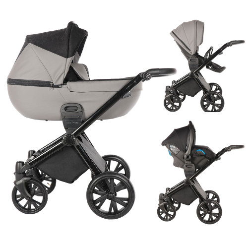 Insevio 3-in-1 Synergy Travel System - Grey