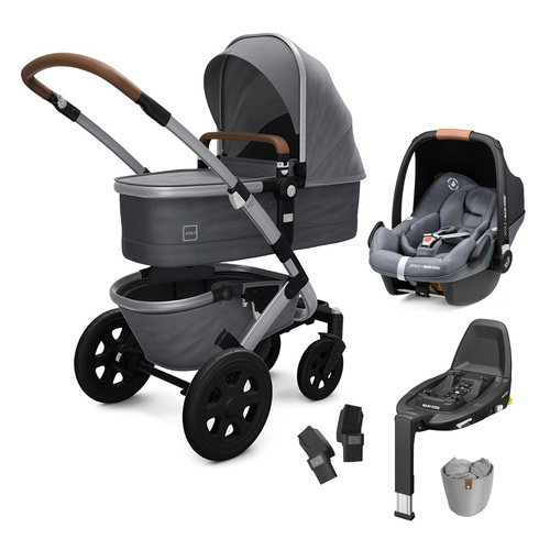 Joolz Geo2 6-Piece Pebble Pro Bundle - Gorgeous Grey