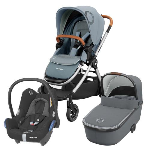 Maxi Cosi Adorra 2 Cabriofix Travel System - Essential Grey