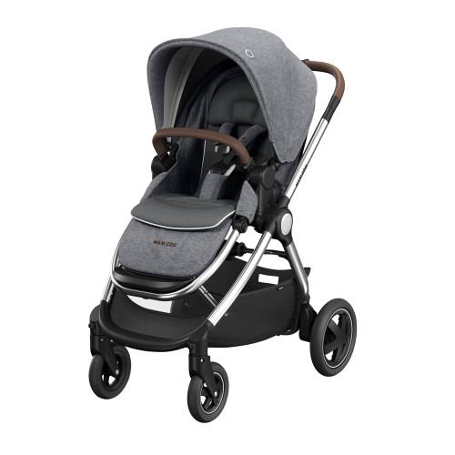 Maxi Cosi Adorra Luxe Travel System Bundle - Grey Twillic