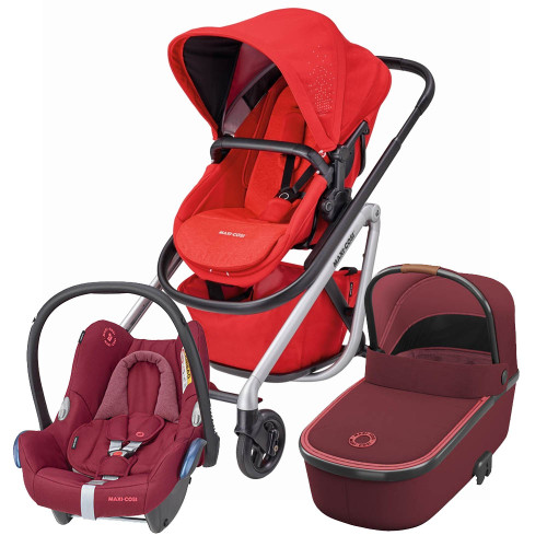Maxi Cosi Lila Cabriofix Package - Nomad Red