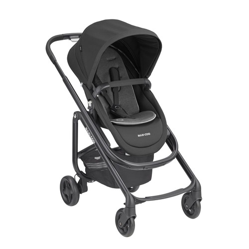 Maxi Cosi Lila SP Pushchair - Essential Black (right 3qtr)