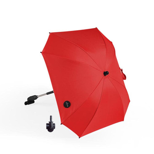 Mima Parasol + Clip - Ruby Red