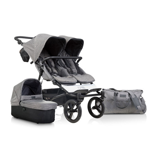 Mountain Buggy Duet Luxury + Carrycot Plus - Herringbone