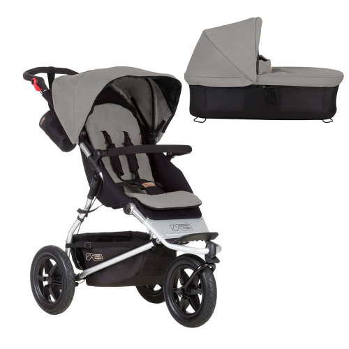 Mountain Buggy Jungle + Carrycot - Silver