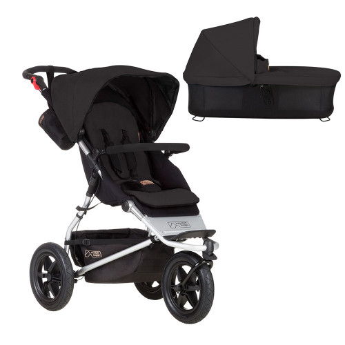 Mountain Buggy Jungle + Carrycot - Black