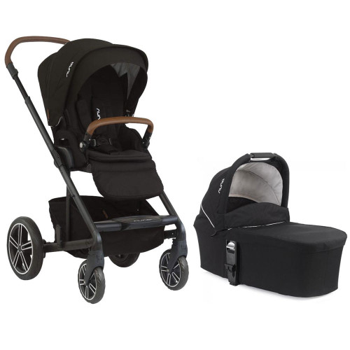 Nuna Mixx Pushchair + Carrycot - Caviar