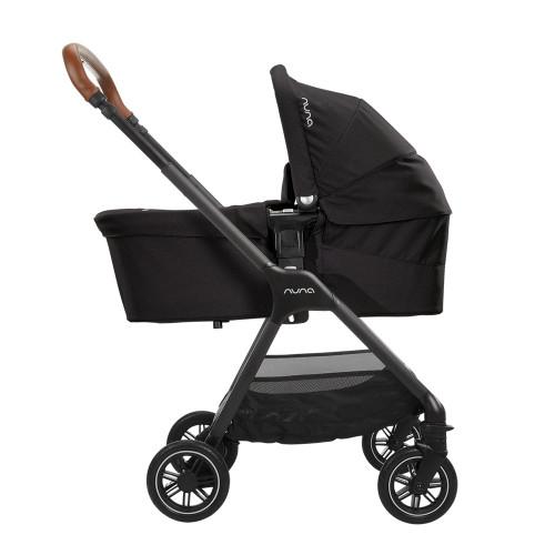 Nuna Triv Stroller + Carrycot - Ebony