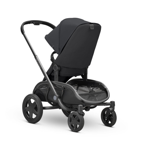 Quinny Hubb XXL Shopping Stroller - Black on Black