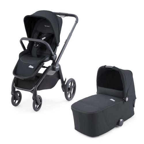 Recaro Celona Stroller + Carrycot - Mat Black