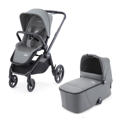 Recaro Celona Stroller + Carrycot  - Silent Grey