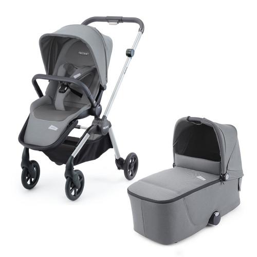 Recaro Sadena Stroller + Carrycot - Silent Grey