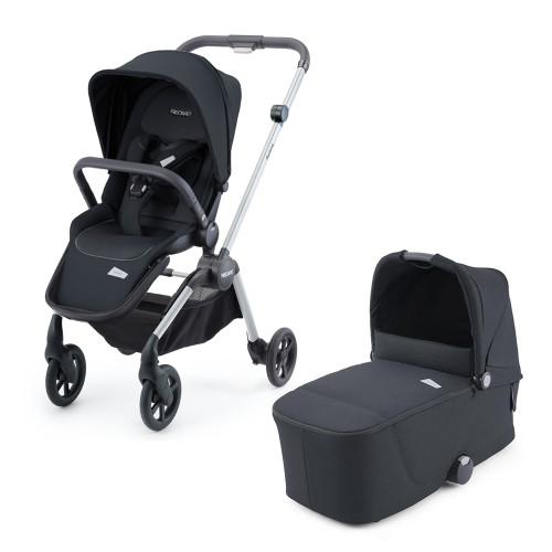 Recaro Sadena Stroller + Carrycot - Mat Black