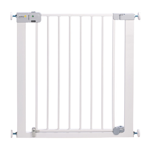 Safety 1st SecurTech® Auto Close Metal Gate - White