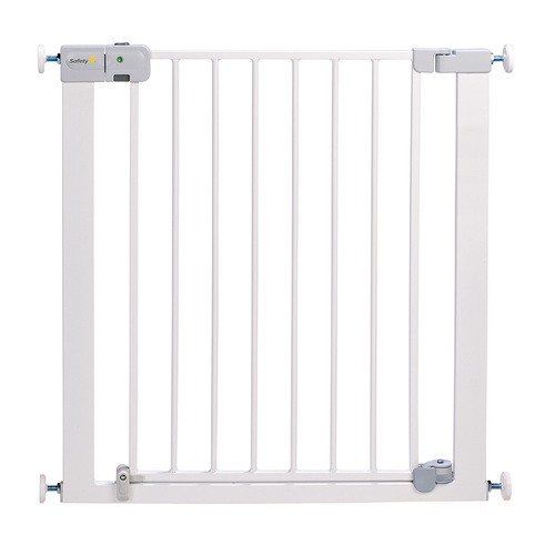 Safety 1st SecurTech® Auto Close Metal Gate - White