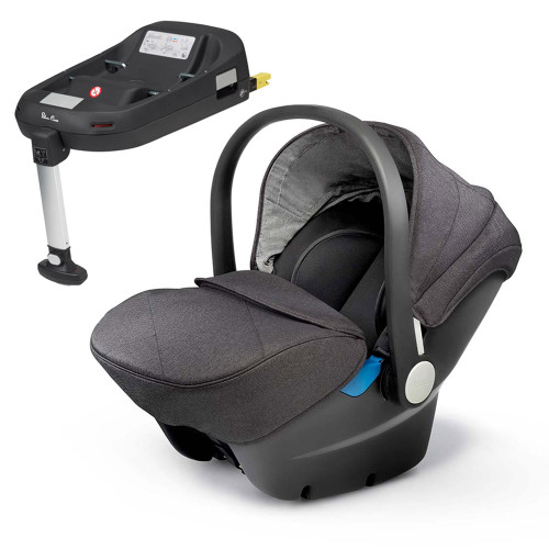 Silver Cross Simplicity + ISOFIX Base - Granite