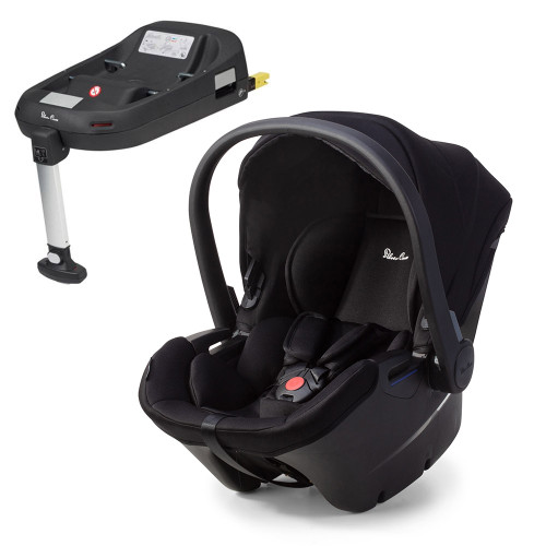 Silver Cross Simplicity Plus + ISOFIX Base - Black