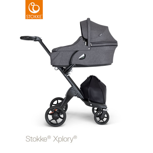 Stokke® Xplory® V6 Complete Black Melange - Choose Your Chassis