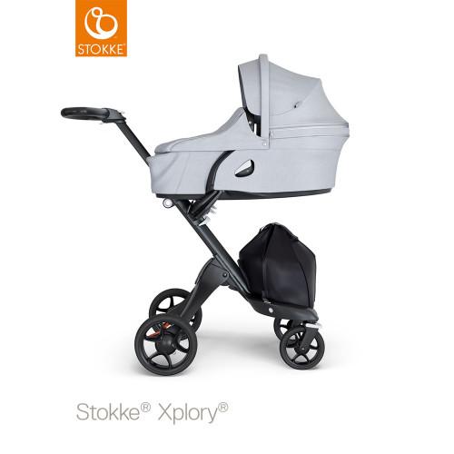 Stokke® Xplory® V6 Complete Grey Melange - Choose Your Chassis