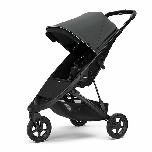 Thule Spring Pushchair on Black Chassis - Choose your Colour