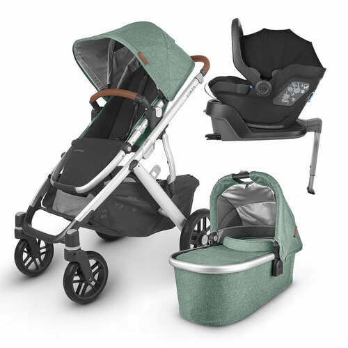 Uppababy VISTA V2 Travel Bundle - Emmett
