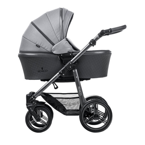 Venicci Carbo LUX Travel System - Natural Grey