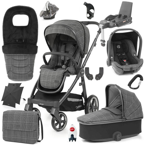 Babystyle Oyster 3 Ultimate 12-Piece Bundle - City Grey Chassis/Manhattan
