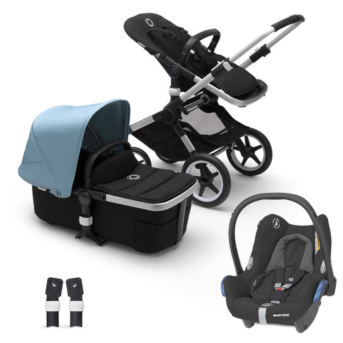 Bugaboo Fox 2 Complete on Alu Chassis + Cabriofix - Choose Your Colour