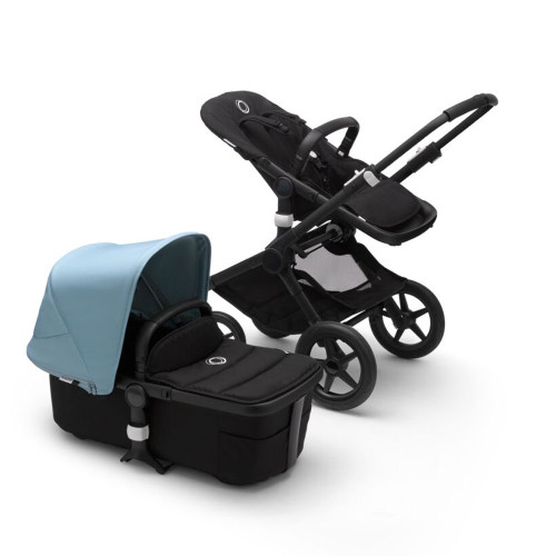 Bugaboo Fox 2 Complete on Black Chassis + Cabriofix - Choose Your Colour