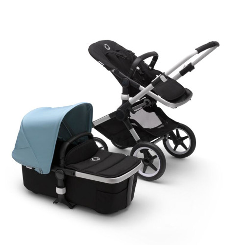 Bugaboo Fox 2 Complete on Aluminium Chassis + Turtle - Choose Your Colour