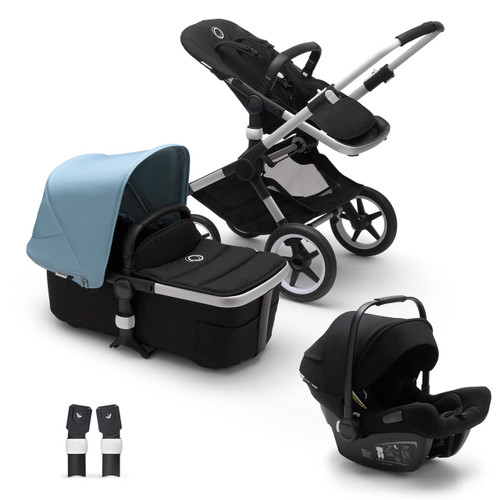 Bugaboo Fox 2 Complete on Aluminium Chassis + Bugaboo Turtle Air - Choose Your Colour
