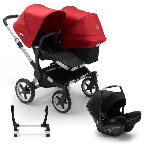 Bugaboo Donkey 3 Duo Stroller on Alu Chassis + Bugaboo Turtle Air - Choose Your Colour