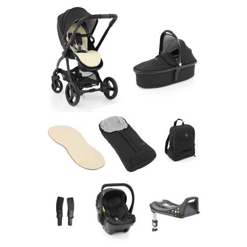 egg® 2 Luxury Shell i-Size Special Edition Bundle - Just Black
