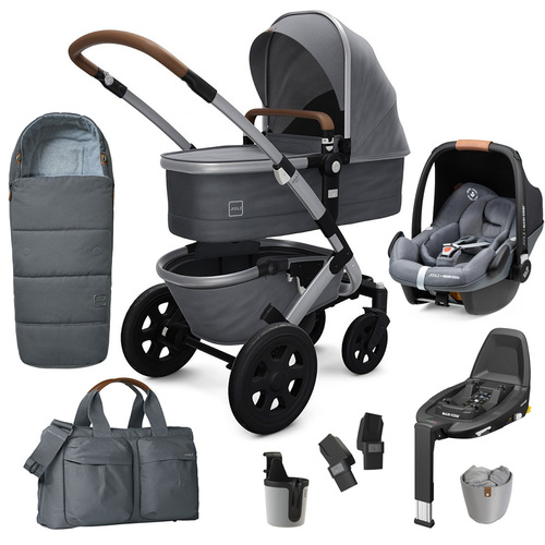 Joolz Geo2 9-Piece Pebble Pro Bundle - Gorgeous Grey