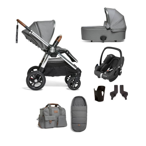 Mamas & Papas Ocarro 7-Piece Rock Bundle - Fossil Grey