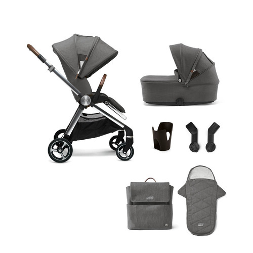 Mamas & Papas Strada 6-Piece Bundle - Grey Mist