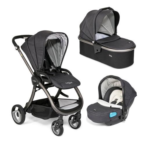 Tutti Bambini Arlo Travel System - Charcoal / Liquorice