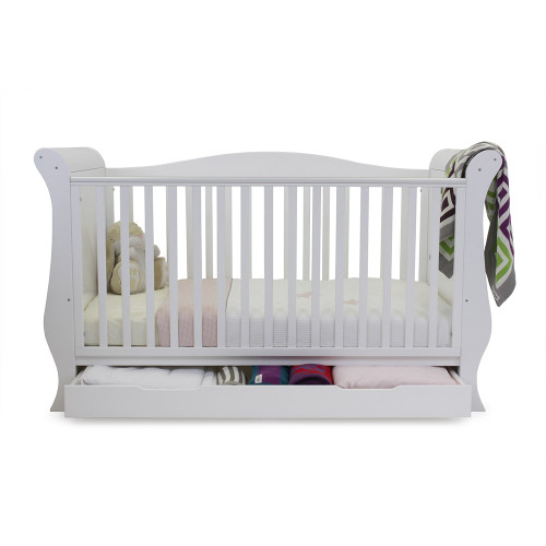 Babystyle Hollie Sleigh Bed - White