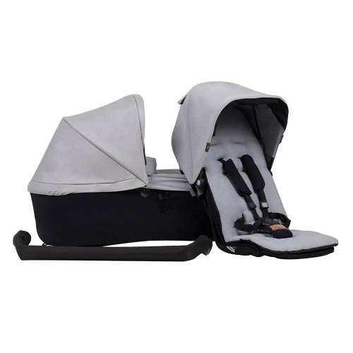 Mountain Buggy Duet Single Family Pack - Silver (2019)