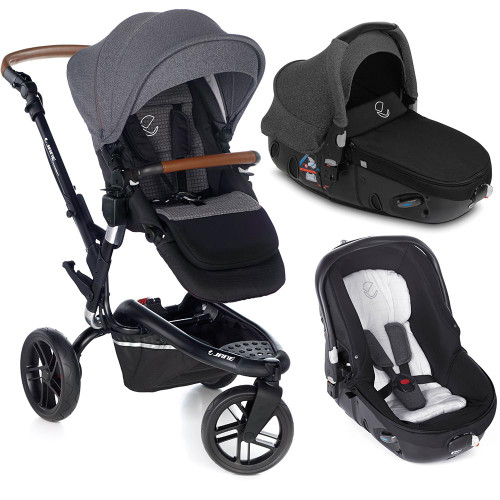 Jane Trider Matrix Travel System - Jet Black