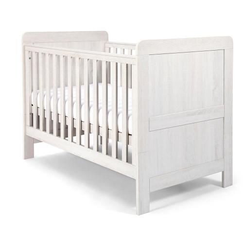 Mamas & Papas Atlas Cot/Toddler Bed - Nimbus White