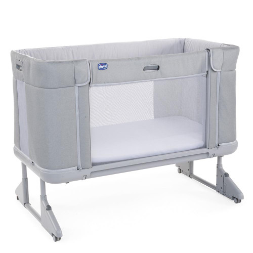Chicco Next 2 Me Forever Side Sleeping Crib - Cool Grey