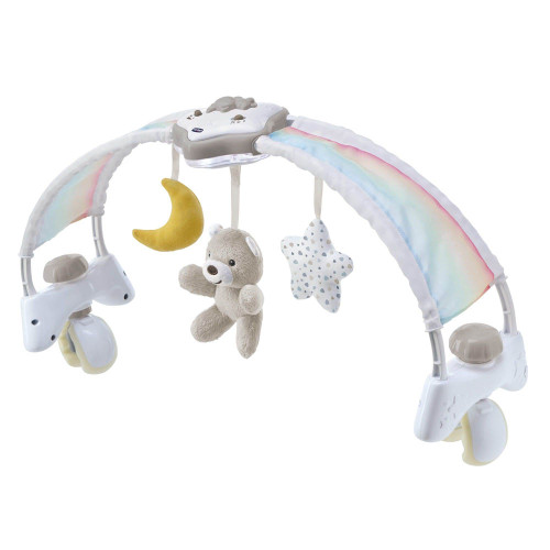 Chicco First Dreams 2-in-1 Rainbow Sky Bed Arch - Neutral