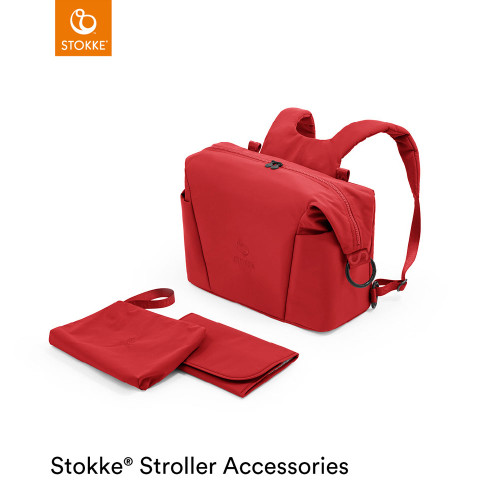 Stokke® Xplory® X Changing Bag - Ruby Red