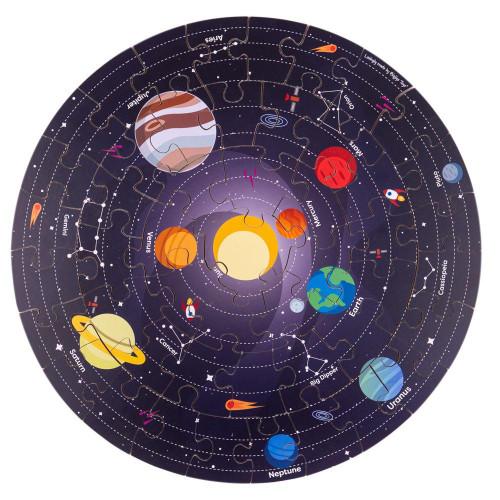 Bigjigs Solar System Circular Floor Puzzle